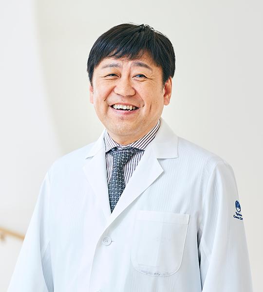 国立がん研究センター東病院 代表<伊藤雅昭 写真